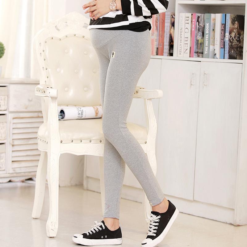 Plus Size Winter Velvet Pregnancy Leggings Pants For Pregnant Women Maternity Leggings Warm Clothes Thickening Trousers Clothing 4