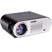 2017 Projector 1500 Lumen T90, 1280*800 (Optional Android Projector with 2.4G Air Mouse, Bluetooth WIFI, Support KODI AC3) LED