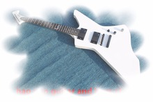 2017 New + Factory + white ESP snakebyte james hetfield signature electric guitar active pickups white esp ltd snakebyte guitar