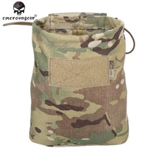 Emersongear Hunting Airsoft Folding Magazine Recycling Bag Emerson Tactical Drop Sundries Pouch Military EM9041 Coyote Multicam(China)