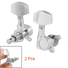 SEWS 2 pcs Full Closed Type Tuner Folk Guitar Tuning Key Peg