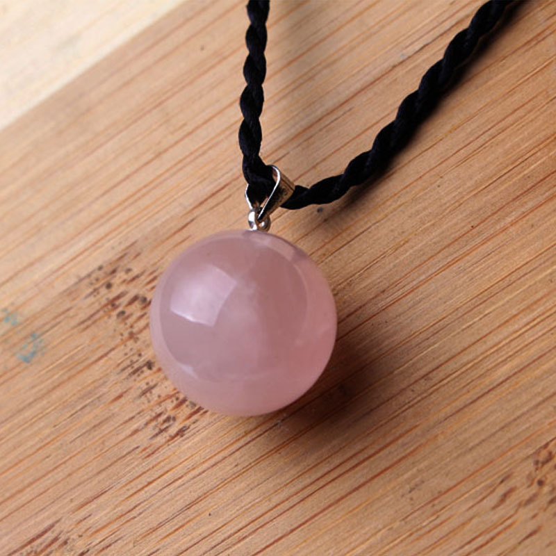 Natural quartz crystal healing stones clear crystal balls spheres Amethyst pendant for gifts