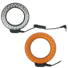Andoer 48 LEDs Macro Ring Flash Light with 2 Diffusers for Canon/Nikon/Pentax