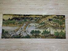 157x60cm /Изысканный китайский шелк Вышивка могила-тральных день живопись(China)