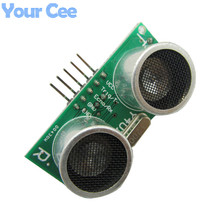 1 pc US-100 Ultrasonic Sensor Module DC 2.4V - 5V With Temperature Compensation Range Distance 450cm For Arduino(China)