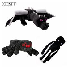 XIESPT Minecraft Plush Toys Enderman Ender Dragon Spider  Plush Doll Brinquedos For Kids Gift Free Shipping