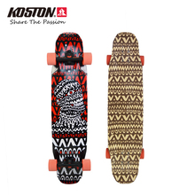 KOSTON Professional Longboard Completes Extreme All-Around Skateboard 40 Inch Bamboo And Glass Fiber Hybrid Material Board LB303