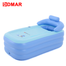DMAR Swimming Pool Inflatable Bathtub For Kids Infants Children Water Toys Baby Bathing Pool Durable Warm High Quality 2017 NEW(China)
