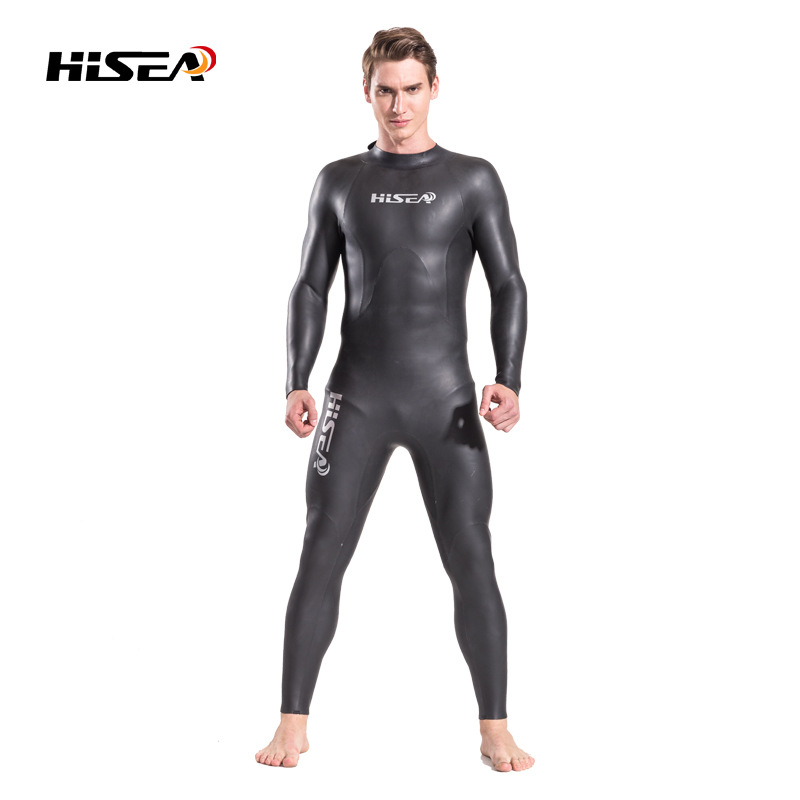 mens triathlon suit 3.5mm SUPREME X Leather  Smooth skin wetsuits Super Stretch Full Wetsuit Open Water CR neoprene