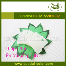 100pcs Mutoh Cleaning WIPPER White Printer Wiper OEM(China)