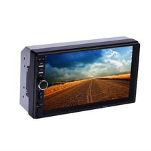Universal 7inch Call Bluetooth Hand-free Supply Parking Card HD Radio Car MP5 Player with Rear View Camera Touch Screen Player