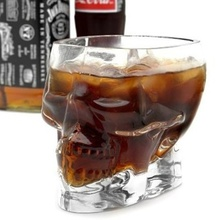 1 Pc New Crystal Skull Head Vodka Whiskey Shot Glass Cup Drinking Ware Home Bar
