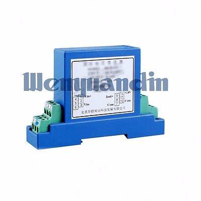 AC Voltage Sensor Voltage Transmitter AC0-380V Output 4-20MA Din Rail Module<br><br>Aliexpress