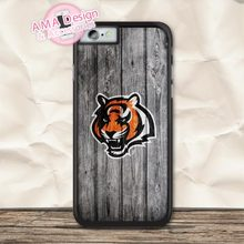 Cincinnati Bengals Football Case For iPhone X 8 7 6 6s Plus 5 5s SE 5c 4 4s For iPod Touch 5 4(China)