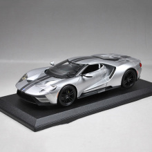 Sale! MaiSto 1/18 Scale Diecast 2017 Ford GT Alloy Car Models Grey Color With Box Collections Gift