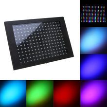 AC90-240V 192 RGB LED Stage Lighting Effect Light Professional 7 Channel DMX512 Disco DJ Party Flat Panel