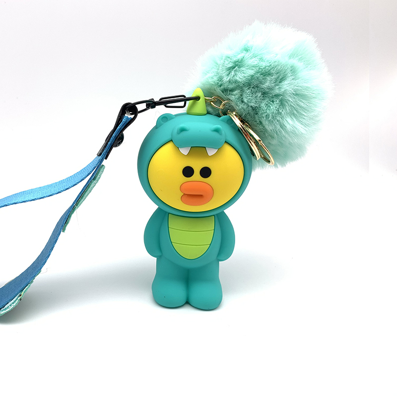 Q Uncle Lanyard For Keys 3d Cartoon Squeeze Phone Strap Strapkeycord Nekband Usb Bracket Diy Silicone Hanging Rope Ture 100% Guarantee Advertising