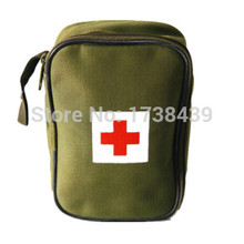 Top Quality Portable first aid kit Outdoor Camping Emergency Survival kit military Big Car first aid kit bag(China)