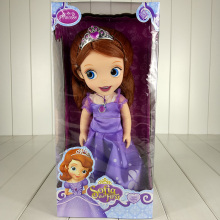 New Arrival 30cm Sofia The First Princess Sofia Plush Doll Toys Soft Plush Doll Toys for Girls