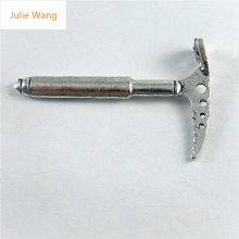 Julie Wang 10PCS Antique Silver Color Climbing Axe 2017 New Trendy Necklace Earring Bracelet Jewelry For Men And Women Accessory