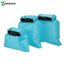 Pack of 3 1L+2L+3L Waterproof Dry Bag Outdoor Portable Ultralight Dry Sacks Camping hiking Backpacking Kayaking traveling(China)