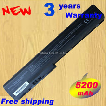 Wholesale New 8cells laptop battery FOR HP Pavilion DV7 DV8 HDX X18 series HSTNN-OB75 KS525AA HSTNN-IB75 free shipping(China)