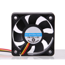 High Quality Wholesale Price 3 Pin CPU 5cm Cooling Cooler Fan Heatsinks Radiator 50mm 10mm for PC Computer 12V DC Brushless Fan