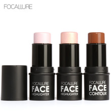 Highlighter Foundation Face Makeup Shimmer And Highlighting Powder Creamy Texture Bronzer And Highlighter Stick 3D Face Cream(China)