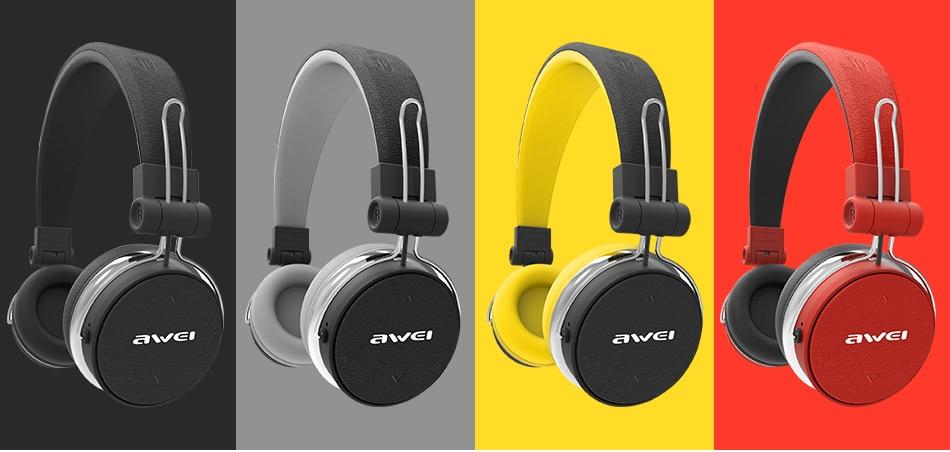 Awei A700BL Wireless Bluetooth Stereo Over Ear Headphones 6