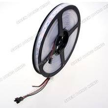 WS2812 5050 led strip lights 12V Waterproof IP67 PCB 2* 5m 30led/m 30 IC/m addressable digital dream color LED pixels strip