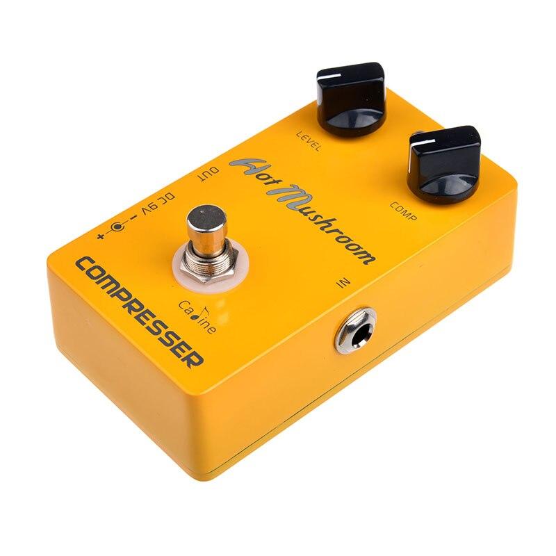 CP-10 Hot MushroomCompressor Guitar Digital Delay Pedal Caline Guitar Effect Guitar Pedals CP10 Compressor<br><br>Aliexpress