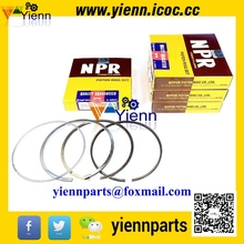 For ISUZU 4BD2 Piston Ring Set 8-97117-686-0 Ring size 3*2*4 For SBR FBR YBR Truck 4BD2 4BD2T Diesel Engine Parts(China)