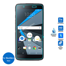 For Rim BlackBerry Neon DTEK50 Tempered Glass Screen Protector 2.5 9h Safety Protective Film on Blackbarry Hamburg STH100-2
