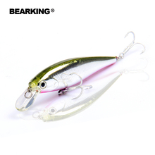 Retail fishing tackle new model,Bearking perfect action minnow,78mm/9.2g, dive 0.8-1.2m suspending bait , 5 colors for choose(China)