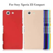 Fashion Frosted Matte Plastic Hard sFor Sony Xperia Z3 Compact Case For Sony Xperia Z3 Compact Z3 Mini Cell Phone Case Cover