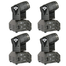 4pcs/lot 10W 4 in 1 Led Beam Moving Head Light Moving Wash Light