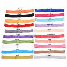 20pcs  Hair headbands FOE band  hair elastic bands  hairbands Sweet Head wrap hair ribbon soft bands Fashion Hair Accessories