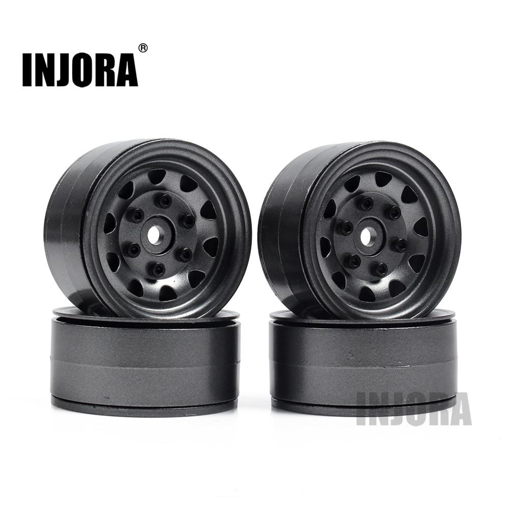 4PCS Metal Beadlock 1.9 Wheel Rim for 1/10 RC Rock Crawler Traxxas TRX-4 TRX4 RC4WD D90 D110 TF2 Axial SCX10 90046<br>