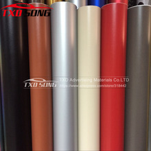 "60*152CM(24""X60"")/Lot Leather Vinyl film leather grain Leather Vinyl Film for car interior decoration with air bubbles 5 Colors(China)"