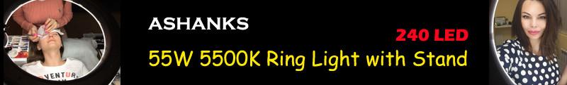 ashnaks ring light stand