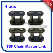 4pcs/pack T8F Chain Spare Master Link For 43cc 47cc 49cc 2 Stroke Mini ATV Quad Dirt Super Pocket Bike Motorcycle Motocross