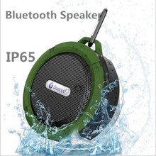 Outdoor Wireless Bluetooth Speaker IP65 Waterproof Portable Stereo Subwoofer Speaker Outdoor Sport Sound Box with SD Card Slot