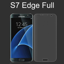 Hot Marketing 2016 Fashion New Clear Curved Film Screen Protector for Samsung Galaxy S7 edge S6 edge Plus TPU Soft Flim(China)