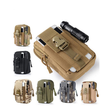 Airsoft Sports Military 600D MOLLE Utility Tactical Vest Waist Pouch Bag For Outdoor Hunting Wasit Pack Equipment(China)