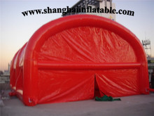 2016  Red inflatable booth / inflatable tent for kids / inflatable log cabin tent house tent