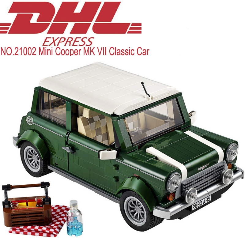 1108Pcs Lepin Mini Cooper MK VII Classic Car Model Building Kit Blocks Brick Toy For Children Figures Gift Compatible With 10242<br><br>Aliexpress