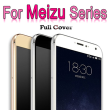 Full cover For Meizu M5 M3 note Mini Mx6 Pro 6 5 Tempered Glass For Meizu Meilan U10 U20 Screen Protector Film on Pro5 Pro6 case(China)