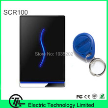 SCR100 RFID 125Khz card employee time attendance access control smart card access control with RS232/484,TCP/IP