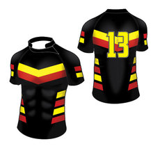 2017 Hot Sale Multi-Color Practice Wear Breathable Rugby Jerseys Sublimation Men & Women Rugby Jersey Outdoors Sprotswear