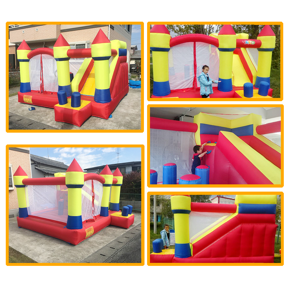 6037 inflatable bouncer house bouncy castle (9)